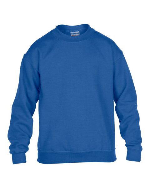 Gildan Kids Heavy Blend™ Drop Shoulder Sweatshirt - T Shirt Printing UK