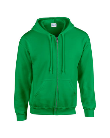 Gildan Heavy Blend™ Zip Hooded Sweatshirt - T Shirt Printing UK