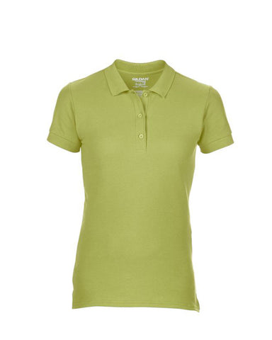 Gildan Ladies Premium Cotton® Double Piqué Polo Shirt - T Shirt Printing UK