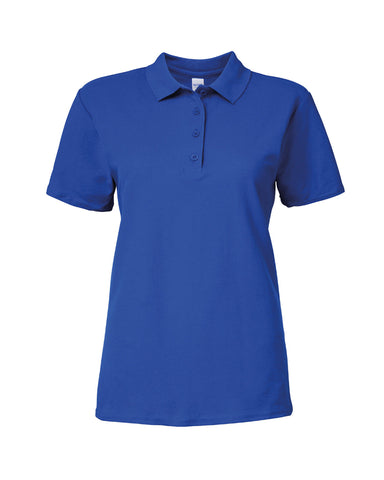 Gildan Ladies SoftStyle® Double Piqué Polo Shirt - T Shirt Printing UK