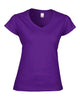 Gildan SoftStyle® Ladies V Neck T-Shirt - T Shirt Printing UK