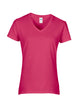 Gildan Ladies Premium Cotton® V Neck T-Shirt - T Shirt Printing UK