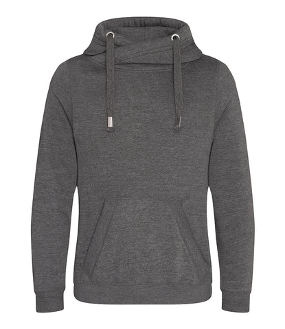 AWDis Cross Neck Hoodie - T Shirt Printing UK