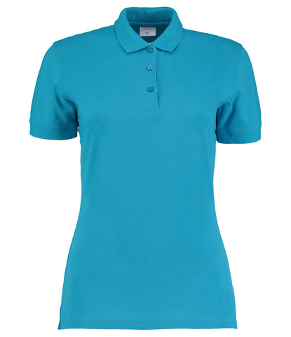 Kustom Kit Ladies Klassic Slim Fit Piqué Polo Shirt - T Shirt Printing UK