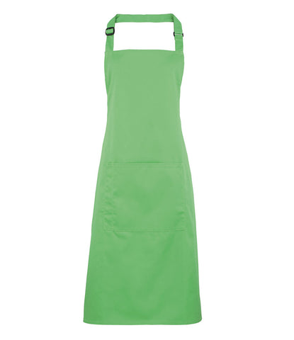 Premier 'Colours' Bib Apron with Pocket - T Shirt Printing UK