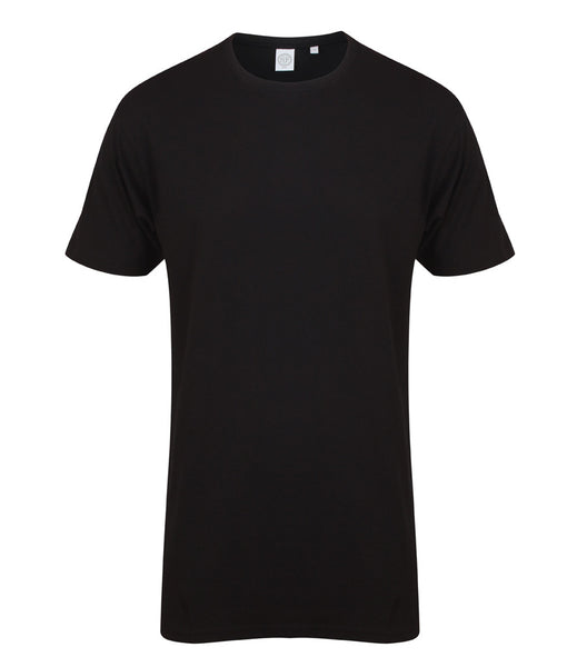 Men Longline Dipped Hem T-Shirt - T Shirt Printing UK