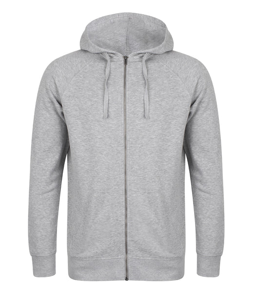 Unisex Slim Fit Zip Hooded Sweatshirt - T Shirt Printing UK