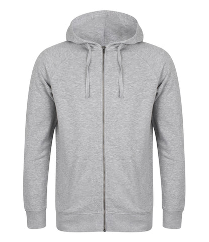 Unisex Slim Fit Zip Hooded Sweatshirt