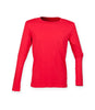 SF Ladies Feel Good Long Sleeve Stretch T-Shirt - T Shirt Printing UK