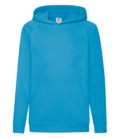Fruit of the Loom Kids Lightweight Hooded Sweatshirt - T Shirt Printing UK