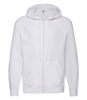 Fruit of the Loom Lightweight Zip Hooded Sweatshirt - T Shirt Printing UK