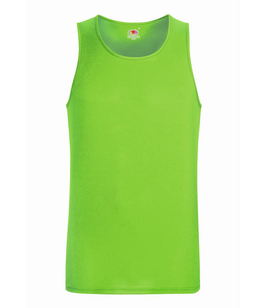 Fruit of the Loom Performance Vest - T Shirt Printing UK