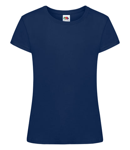 Fruit of the Loom Girls Sofspun® T-Shirt - T Shirt Printing UK