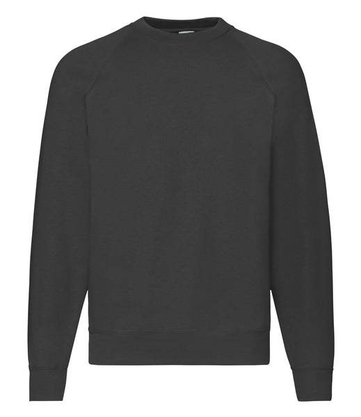 Fruit of the Loom Classic Raglan Sweatshirt - T Shirt Printing UK