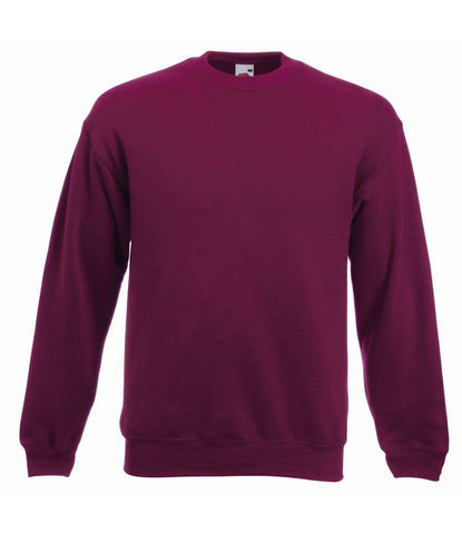 Fruit of the Loom Premium Drop Shoulder Sweatshirt - T Shirt Printing UK