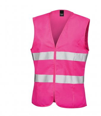 Result Core Ladies Hi-Vis Vest - T Shirt Printing UK