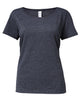 Gildan SoftStyle® Ladies Deep Scoop Neck T-Shirt - T Shirt Printing UK