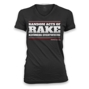 Ladies RAKEDMC Slim Fit V-Neck