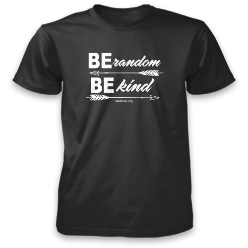 Be Random Be Kind Arrows Tee