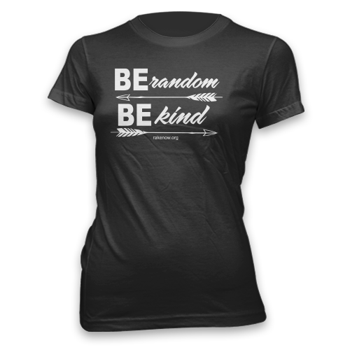 Ladies Be Random Be Kind Arrows Classic Fit Tee