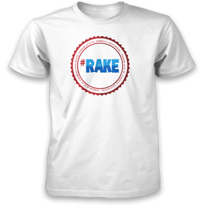 Full Color RAKE Circle Logo Tee