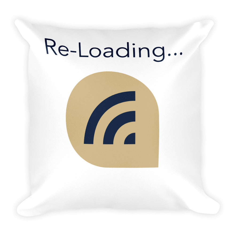 Re-Loading Throw Pillow