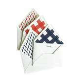 Howdy Notecard Set with Lined Envelopes