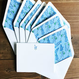 Bluebonnet Card Set with lined envelopes