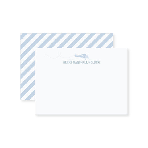 Airplane Notecard // two sizes