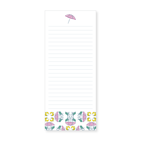 Slim Notepad | beach, non-personalized