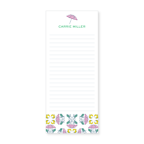 Slim Notepad | beach