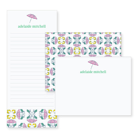 Beach // stationery bundle