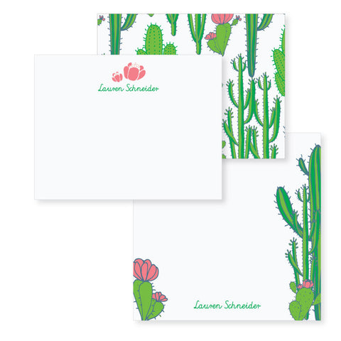 Cactus // stationery bundle