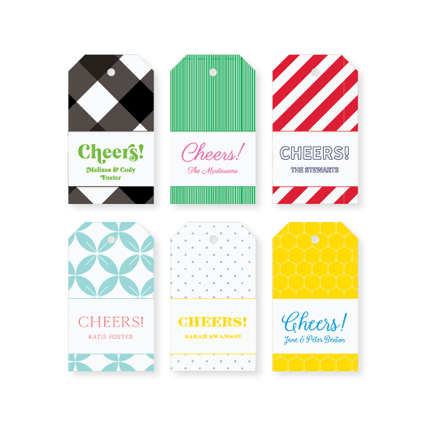 Cheers Hang Tag // DIY