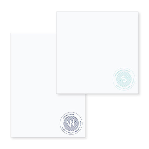 Family Notepad // two sizes