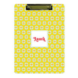 Personalized Clipboard // yellow floral