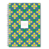 Custom Spiral Notebook // flower vine (two sizes)