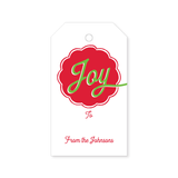 Christmas Gift Tag | joy