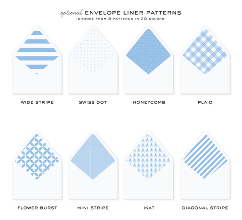 "Envelope Liners for 4.25x5.5"" Cards"