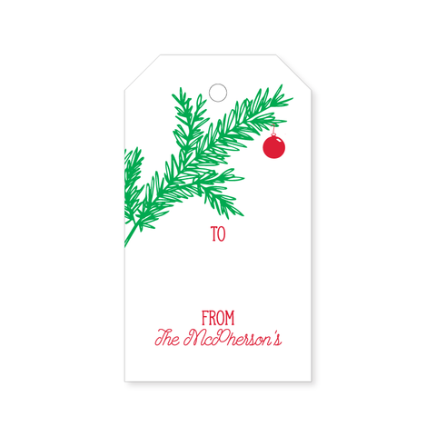 Christmas Gift Tag | Ornament