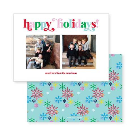 Snowflakes // holiday card