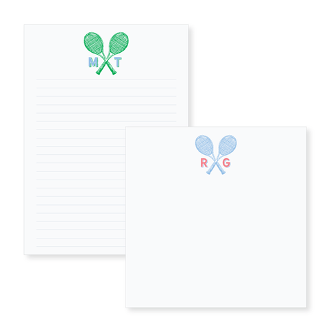 Tennis Notepad // two sizes