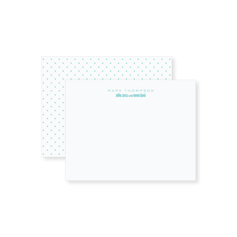 Train Notecard // two sizes