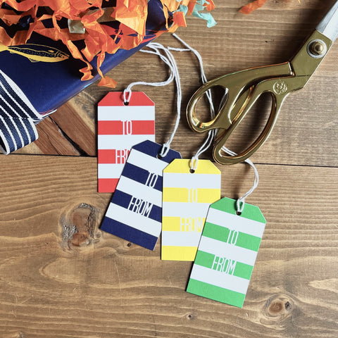 Stripe Gift Tag Bundle