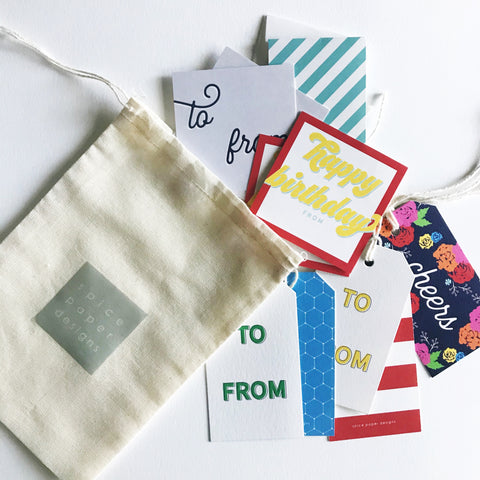 Gift Tag Bundle (10 tags // free shipping!)