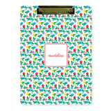 Personalized Clipboard // spring floral