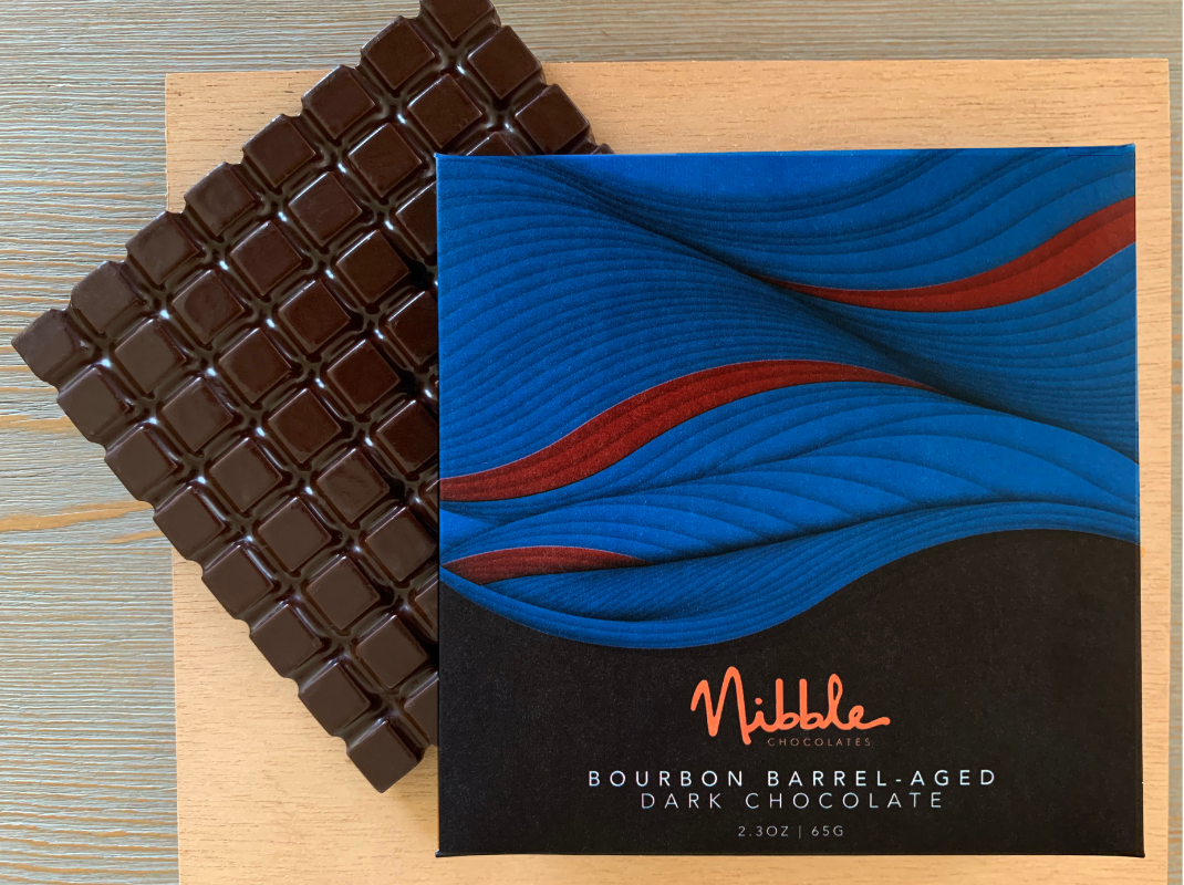 Bourbon Infused Barrel-Aged Chocolate