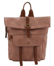 Load image into Gallery viewer, Wild + Free Fold Over Back Pack - Sunkissed Blush Earth