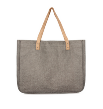 Load image into Gallery viewer, Go Everywhere Grey Travel Tote