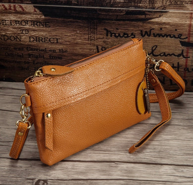 Mustard Cross Body Purse Simple + Sweet